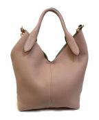ANYA HINDMARCH(アニヤハインドマーチ)の古着「2WAYバッグ」 ピンク