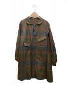 ()の古着「シングルコート」|ブラウン