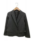 ()の古着「ダブルジャケット」 ブラック