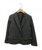 STEVEN ALAN(スティーブンアラン)の古着「ダブルジャケット」|ブラック