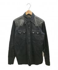 WEST RIDE (ウエストライド) ウエスタンシャツ ブラック サイズ:不明