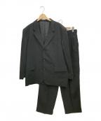 COMME des GARCONS HOMME(コムデギャルソン オム)の古着「3Bセットアップスーツ」|ブラック