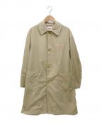 DANTON(ダントン)の古着「ステンカラーコート」|ベージュ