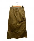 UNIVERSAL OVERALL(ユニバーサルオーバーオール)の古着「ペインタースカート」 ベージュ