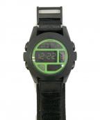 NIXON(ニクソン)の古着「腕時計」|ネオングリーン
