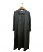 bulle de savon(ビュル デ サボン)の古着「シャツワンピース」 グリーン