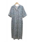 ()の古着「シャツワンピース」|ブルー
