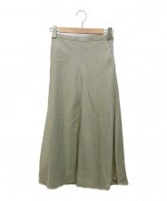 SLOBE IENA (スローブ イエナ) ツイルフレアスカート カーキ サイズ:36