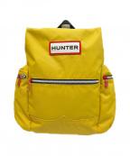 HUNTER(ハンター)の古着「オリジナルトップクリップバックパック」|イエロー