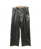 FACETASM()の古着「BIG HEART PANTS」|ブラック