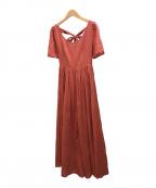 MARIHA(マリハ)の古着「夜空のドレス」|オレンジ