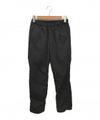 teatora(テアトラ)の古着「WALLET PANTS OFFICE Packable」 ブラック