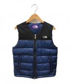THE NORTHFACE PURPLELABEL(ザノースフェイス パープルレーベル)の古着「Light Nuptse Vest」|ネイビー