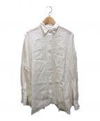 DEUXIEME CLASSE(ドゥーズィエム クラス)の古着「WIDE LINEN シャツ」|ホワイト