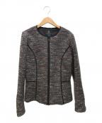 LANVIN COLLECTION(ランバンコレクション)の古着「ツイードジャケット」|グレー