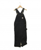 CarHartt(カーハート)の古着「オーバーオール」|ブラック