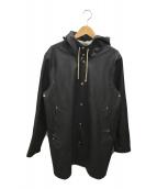 ()の古着「レインコート」 ブラック