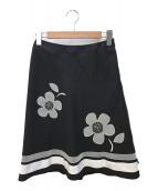 ()の古着「フレアスカート」 ブラック