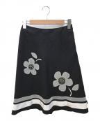 M'S GRACY(エムズグレイシー)の古着「フレアスカート」|ブラック