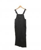 5 1/2(ファイブアンドハーフ)の古着「CARGO-LINEジャンパースカート」