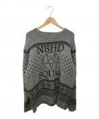NEIGHBORHOOD(ネイバーフッド)の古着「Squad Crew Knit」|グレー