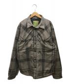 ()の古着「中綿ジャケット」 ベージュ