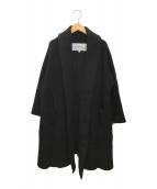 ()の古着「ニットコート」 ブラック