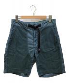 ()の古着「Patchwork Field Shorts」 グリーン