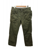 ()の古着「Fall Leaf Sprayer Pants」 オリーブ