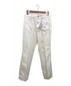 ()の古着「デニムフレアパンツ」 ホワイト