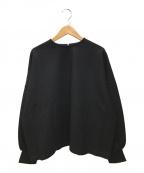 SACRA(サクラ)の古着「ウールプルオーバー」|ブラック