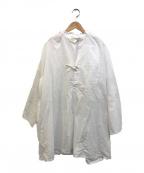 ARMY TWILL(アーミーツイル)の古着「relume別注ポプリンスモックシャツ」|ホワイト