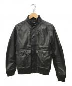 Hysteric Glamour(ヒステリックグラマー)の古着「ニューレイドツイルジャケット」|ブラック