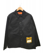 ()の古着「カバーオール」|ブラック