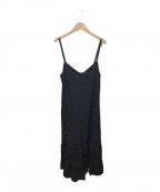 COMME des GARCONS tricot(コムデギャルソントリコ)の古着「キャミソールワンピース」|ブラック