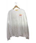 ()の古着「スタッフTシャツ」 ホワイト
