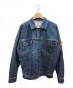MICKEY&CO(ミッキー&コー)の古着「デニムジャケット」 インディゴ