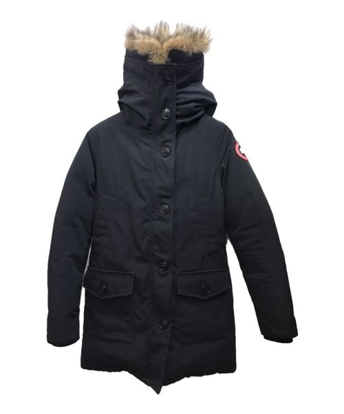 CANADA GOOSE(カナダグース)CANADA GOOSE (カナダグース) BRONTE PARKA ブラック サイズ:Sの古着・服飾アイテム
