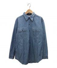 MADISON BLUE (マディソンブルー) ハンプトンシャツ ブルー サイズ:1