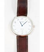 HERMES(エルメス)の古着「アルソー/腕時計」|ホワイト(文字盤)