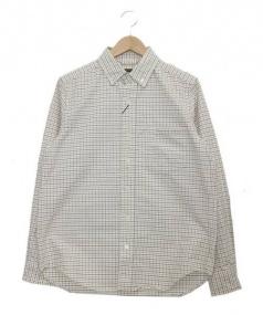 NIGEL CABOURN(ナイジェルケーボン)の古着「ボタンダウンシャツ」 ホワイト
