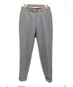 INCOTEX(インコテックス)の古着「センタープレスウールパンツ」|グレー