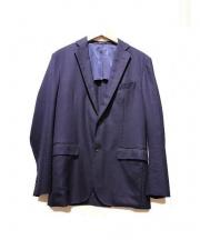 TOMMOROWLAND BLUE WORK(トゥモローランド ブルー ワーク)の古着「サマーウール2Bジャケット」|ネイビー