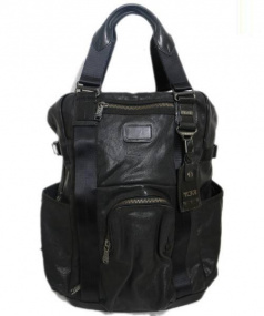 TUMI(トゥミ)の古着「リュック」|ブラック