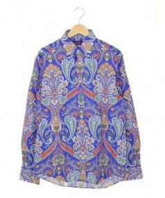 RALPH LAUREN PurpleLabel(ラルフローレン パープルレーベル)の古着「ペイズリーシャツ」|マルチカラー