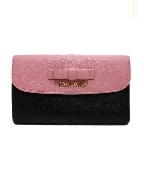 promo code 8b1fd 79c34 [中古]MIUMIU(ミュウミュウ)のレディース 服飾小物 3つ折り財布