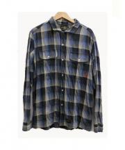 WTAPS(ダブルタップス)の古着「チェックネルシャツ」