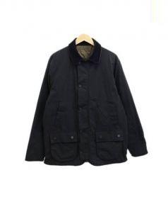 CASH CA(カシュカ)の古着「リバーシブルジャケット」|ブラック×カーキ