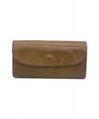 moani(モアニ)の古着「長財布」 ブラウン