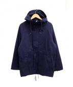 Tony TaizSun(トニータイズサン)の古着「ミリタリーコートジャケット」|ネイビー